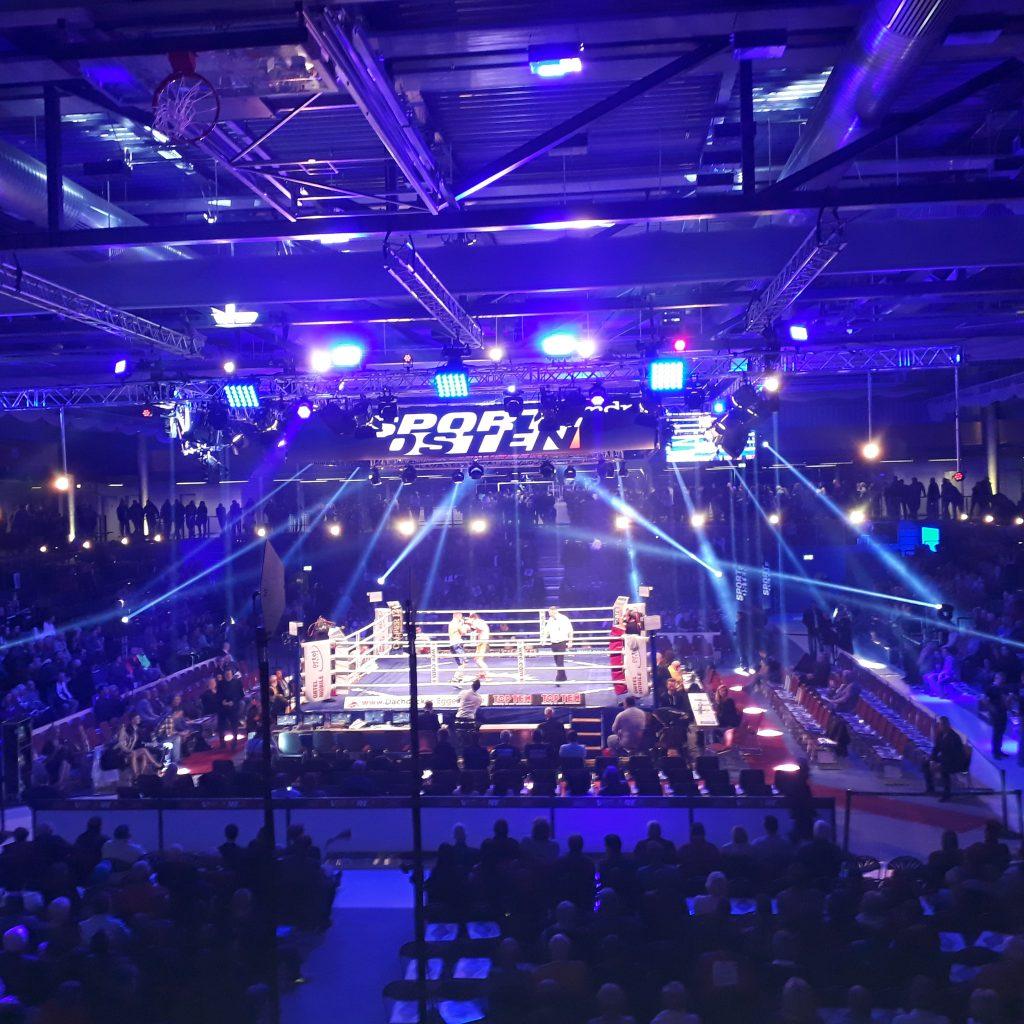 Eventabsicherung Boxveranstaltung