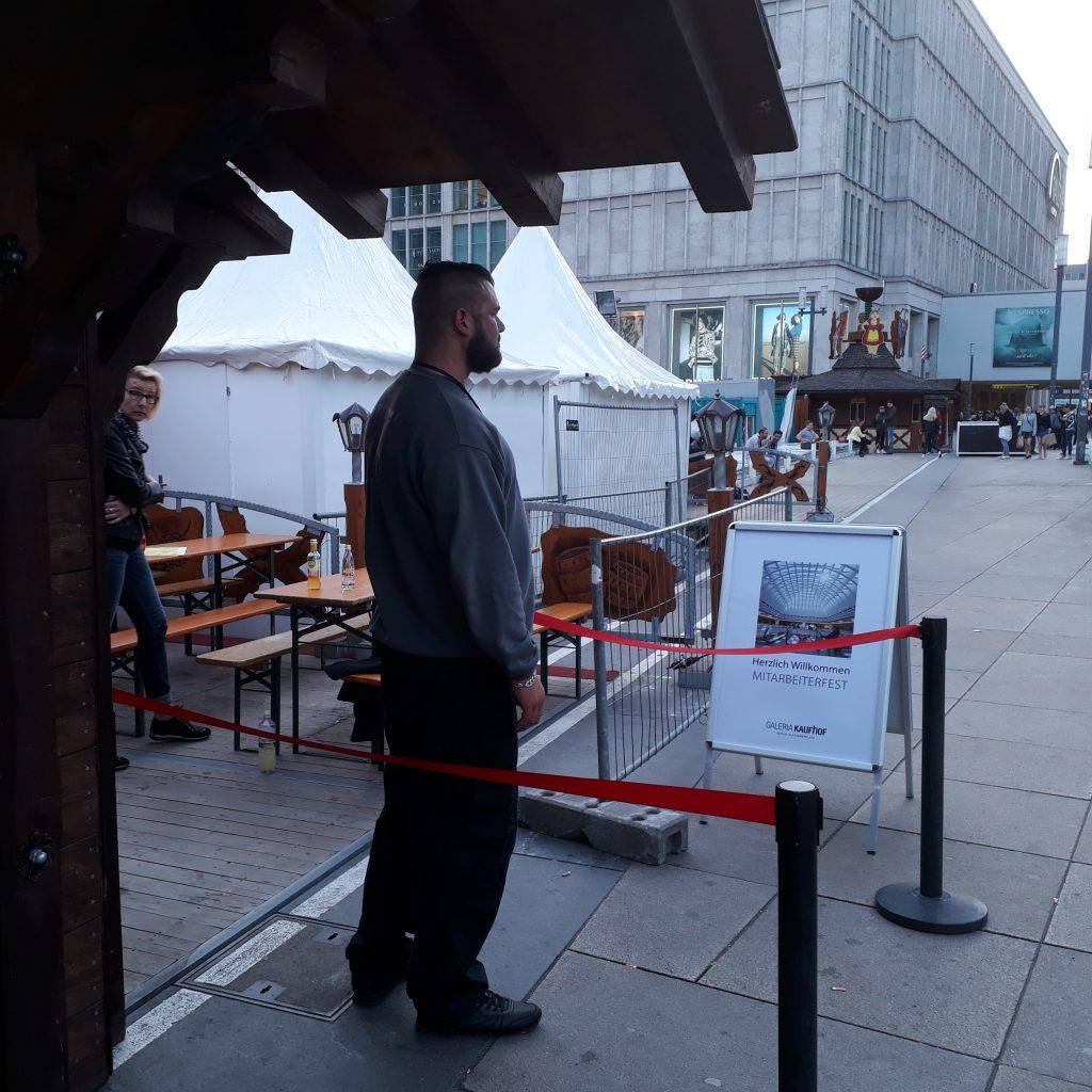 Veranstaltungsschutz Alexanderplatz